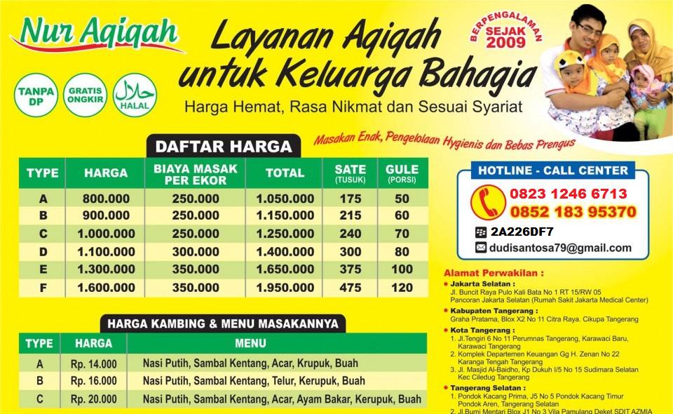 Nur Aqiqah || Jasa Aqiqah Jakarta Raya