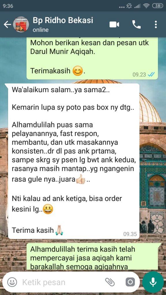 Harga Kambing Aqiqah Jakarta Barat